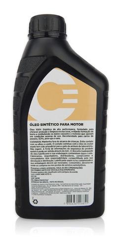 óleo motor motorcraft 5w40 100% sintético original ford api