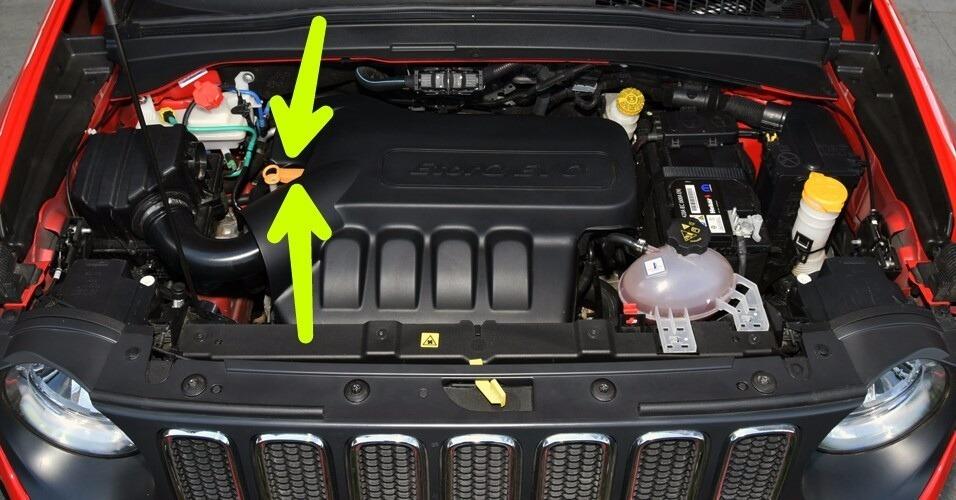 Tampa Óleo Motor Jeep Renegade 2015/16 2016 / 2017 - R$ 24 ...