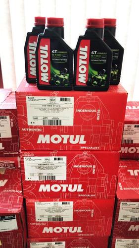 óleo motul 5100 4t 10w40 1 litro semissintético