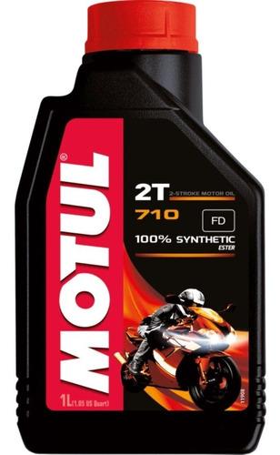 óleo motul 710 2 tempos 100% sintético éster