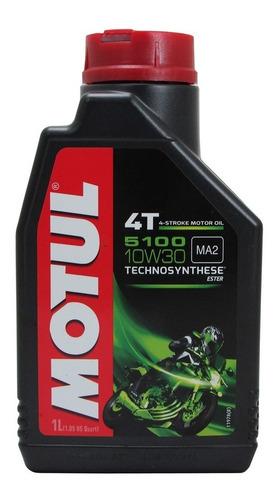 óleo para motor de moto motul 5100 10w 30