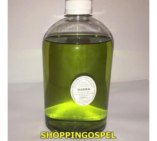 óleo para unção frasco com 5 litros mirra