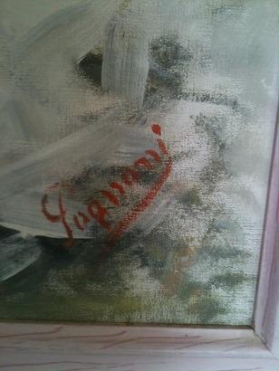 oleo payaso pintor norteamericano