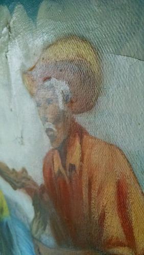 óleo sobre tela autor reconocido