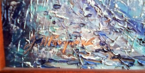 óleo sobre tela del maestro josé marquez figueroa