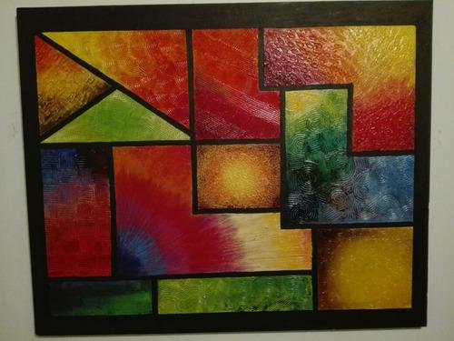 óleo sobre yeso/texturas 88cm×71cm