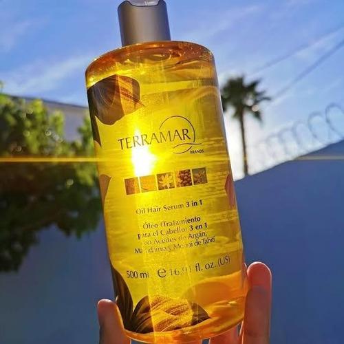 óleo tratamiento para el cabello 3 en 1edición espec. 500ml