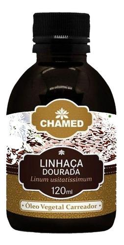 óleo vegetal de linhaca dourada 120 ml chamed