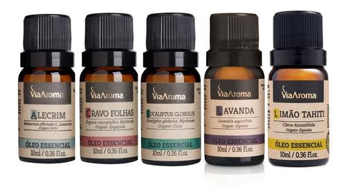 óleos essenciais aroma