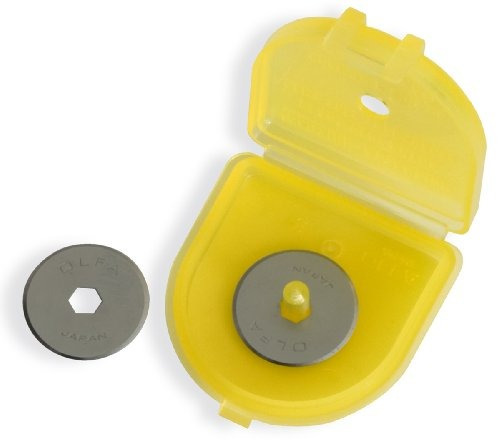 olfa 9463 rb18-2 cuchillas rotativas de 18 mm, paquete de 2