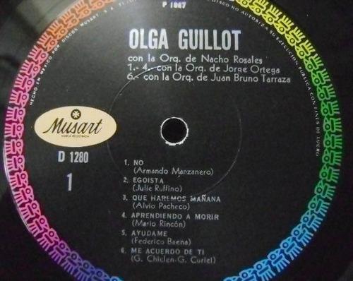 olga guillot / no celoso  1 disco lp vinil