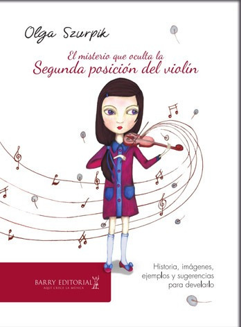 olga szurpik - nuevo libro - segunda posición del violín