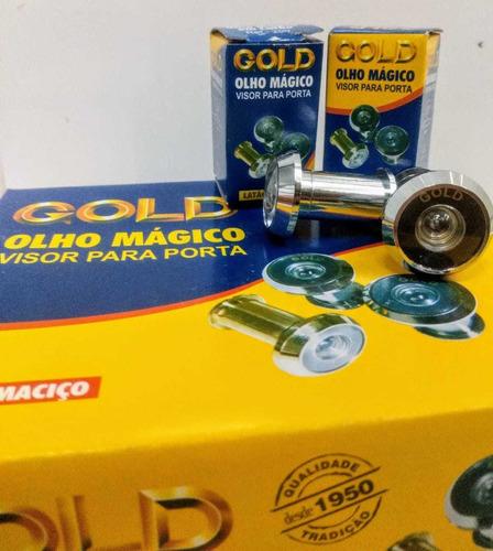 olho mágico gold, instalado por apenas r$ 50,00
