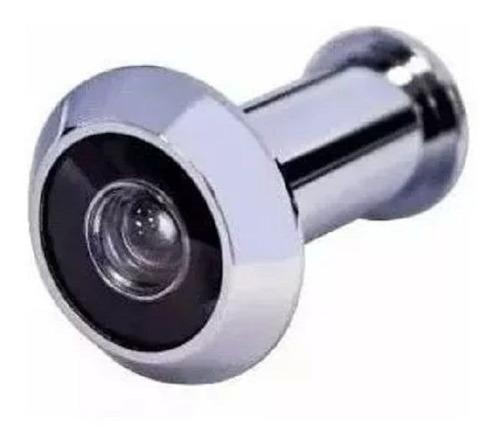 olho mágico p/ porta 35x50mm niquelado cromo prateado barato