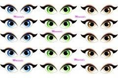 Olhos Adesivos 327 M R 20 23 Em Mercado Livre