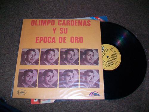 olimpo cárdenas, disco de acetato lp. buen estado