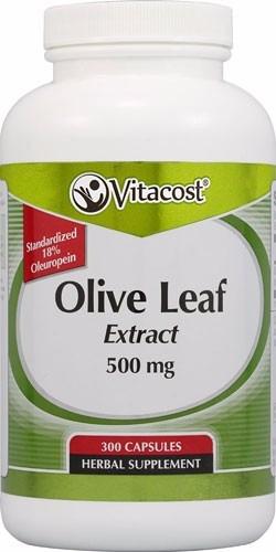 olive leaf hojas de olivo extract 300 caps 500mg mega ahorro