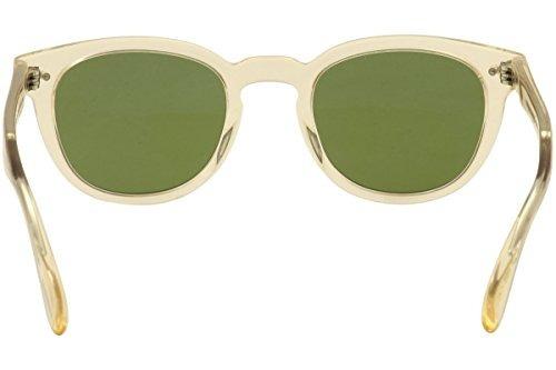 4aed3d024b90 Oliver Peoples Unisex Sheldrake Sun Buff Green Vintage Sun ...