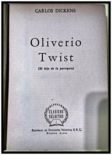 oliverio twist  carlos dickens