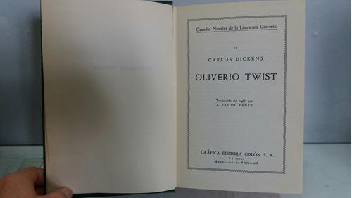oliverio twist. carlos dickens