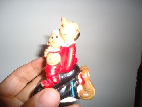 olivia y cocoliso muñeco antiguo