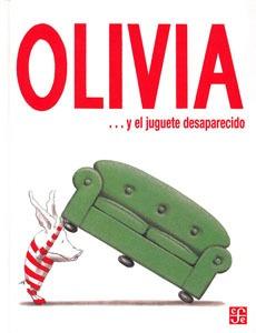 olivia y el juguete desaparecido, ian falconer, ed. fce