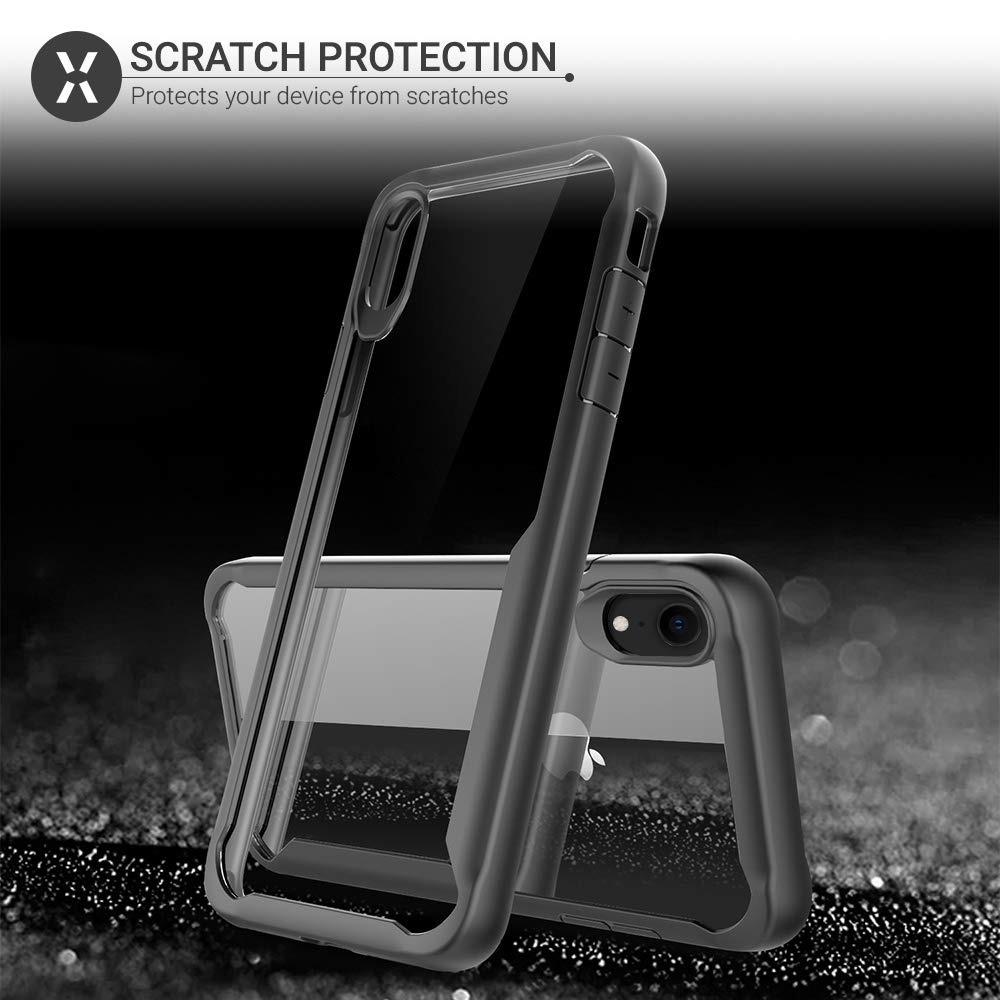 online retailer 7df4a afcec Olixar iPhone Xr Bumper Funda - Hard Tough Cover - Shock Pro