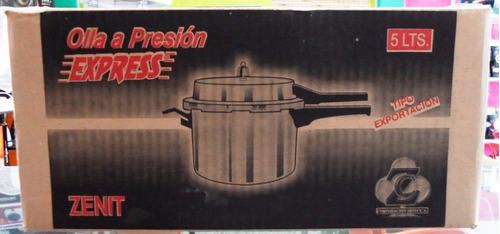 olla a presion de 5 litros modelo express marca zenit