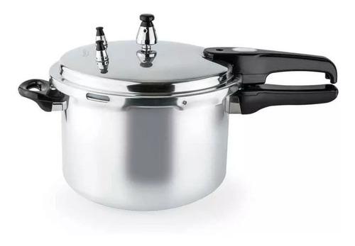 olla a presión kalley 6 litros cierre externo en aluminio