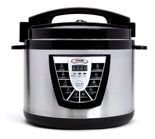 olla a presión power pressure cooker 10 qt