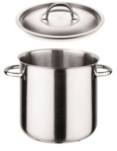olla acero inox,a/tub,c/tapa diam:24cm(10lt) pujadas 400.824