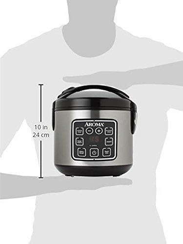 olla arocera aroma housewares vaporera digital 10 tazas