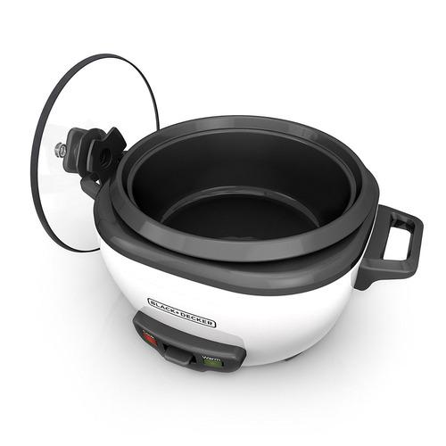 olla arrocera 14 tazas black & decker cocina arroz comida
