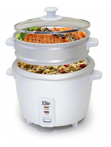olla arrocera de 3 tazas elite cuisine erc-008 maxi-matic