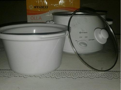 olla arrocera de ceramica de coccion lenta