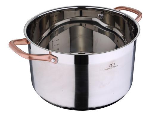 olla bergner 28x16.5 cm infinity chefs acero inox
