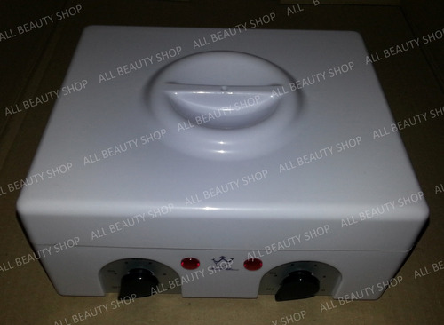olla calentadora de cera para depilación 1 kilo, 2 coladores