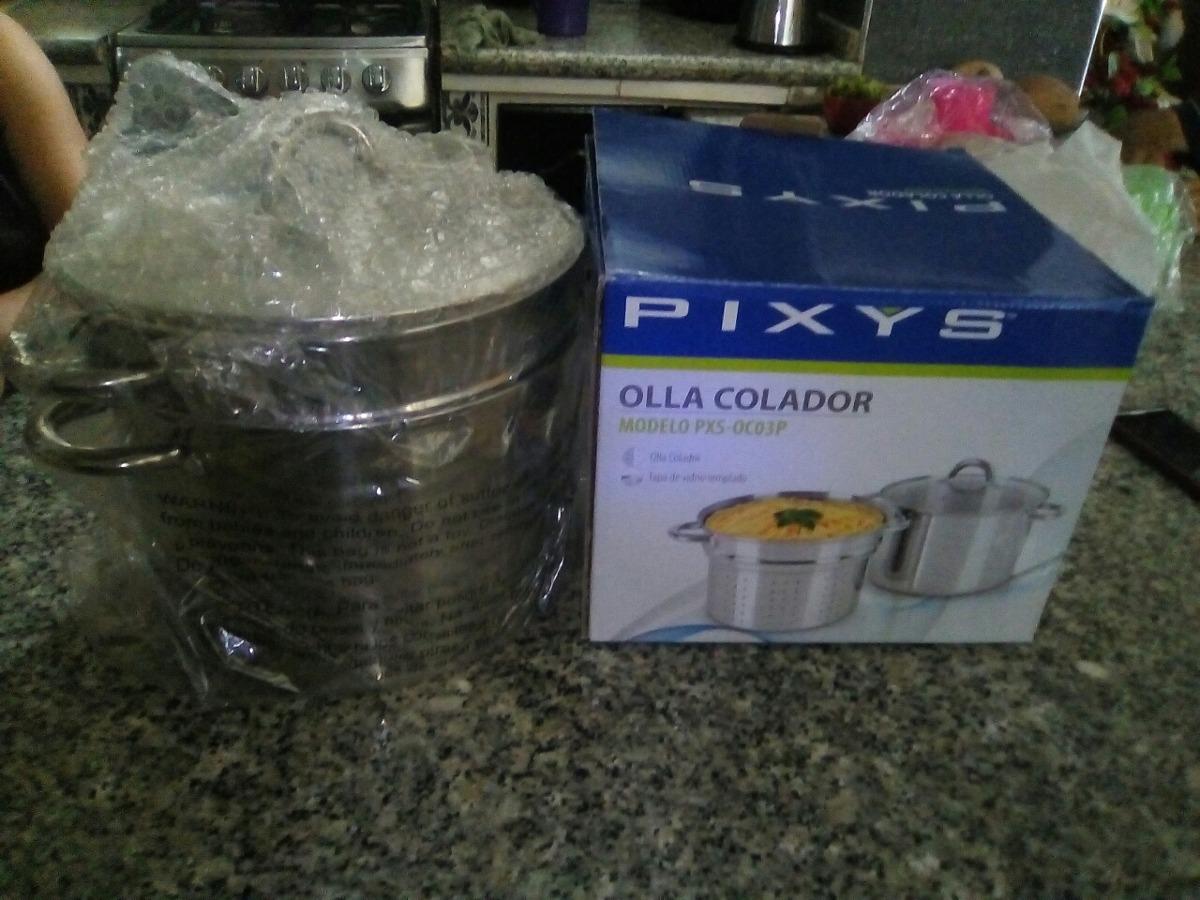 Olla Colador Pixys Bs 3 200 00 En Mercado Libre # Muebles Tiendas Pixys