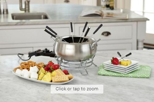 olla de fondue eléctrica cuisinart