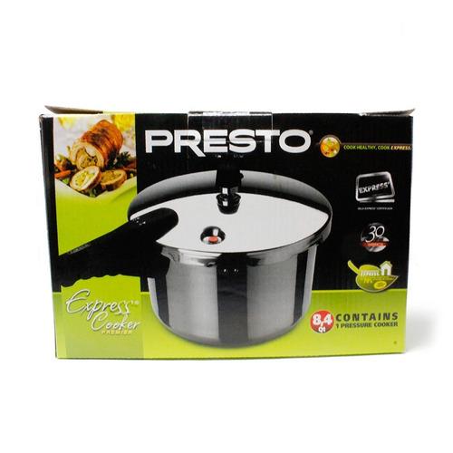 olla de presión 8 l express cooker premier presto 75491