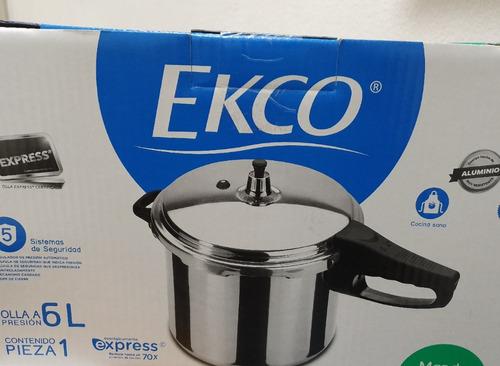 olla de presion expres ecko 6lt nuevas selladas