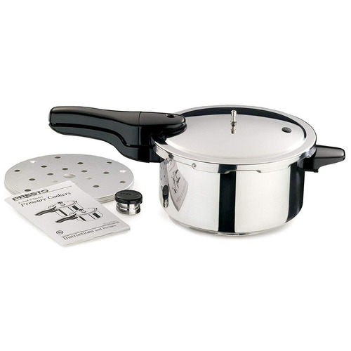 olla de presión presto® 4/lts modelo (01341) nueva en caja