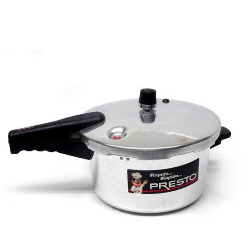 olla de presión presto 6 litros plata - o0101