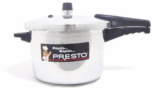 olla de presión presto 7 litros plata - o0771