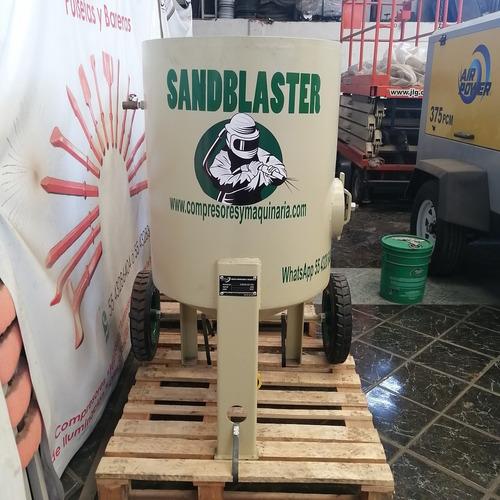 olla de sand blast 272kg máxima duración entrega inmediata
