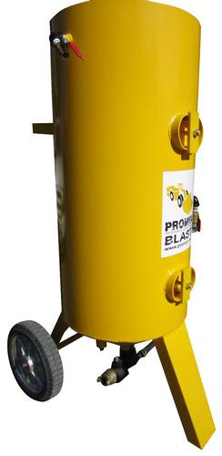 olla de sandblast promin blast 380 kg grande trabajo pesado