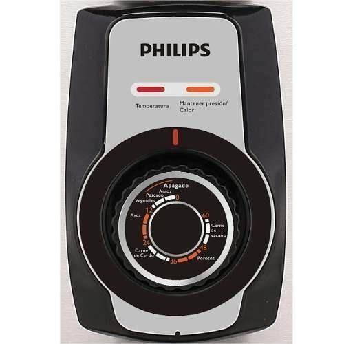 olla electrica philips a presión acero inox 5 litros 48-119