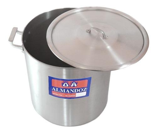 olla gastronómica aluminio reforzado n°32 - 26 lts