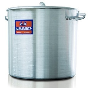 olla gastronomica nº 45 de aluminio 72 litros almandoz