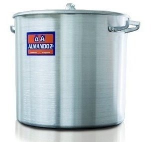 olla gastronomica nº 50 de aluminio 100 litros almandoz